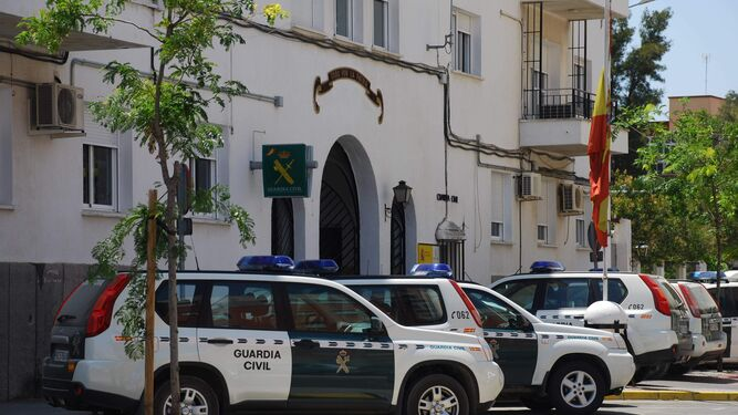 Cuartel de la Guardia Civil en Chiclana.