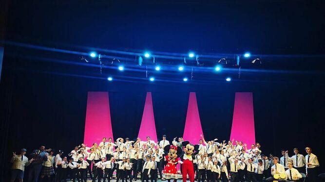 Una imagen del espectáculo 'Érase una vez', que se pudo ver en junio en el teatro Muñoz Seca.