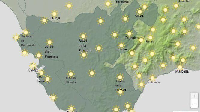 El Tiempo En Cádiz 4 De Febrero Temperaturas Altas En Otra Jornada De Sol