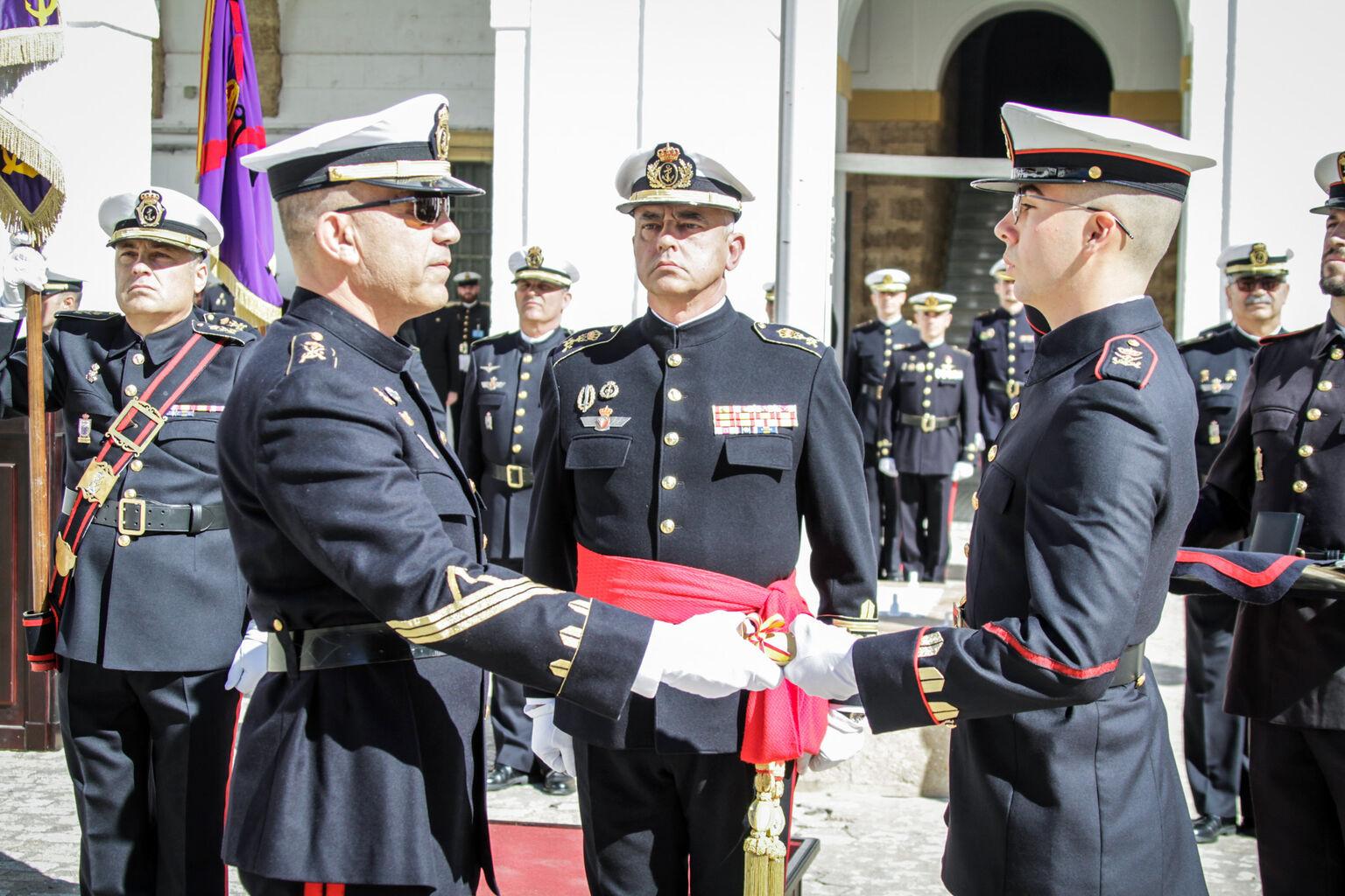 La Infantería de Marina celebra su 483 aniversario en el TEAR