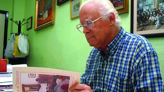 Gaspar Catalán durante la presentación de uno de sus libros, en una imagen de archivo