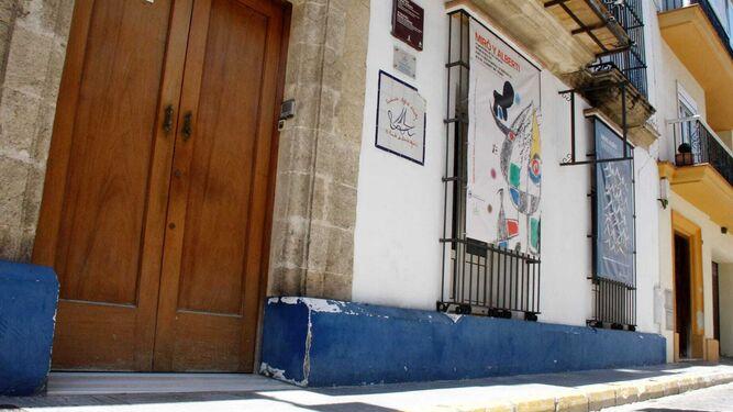 La Fundación Rafael Alberti abrirá desde este miércoles para visitas a las exposiciones.