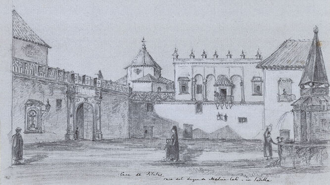 Richard Ford. 'Casa de Pilatos' (1831)