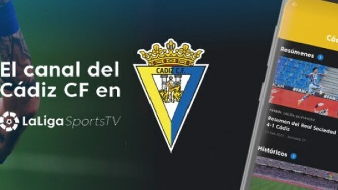 El club cadista ya dispone de su canal en LaLiga Sports TV.