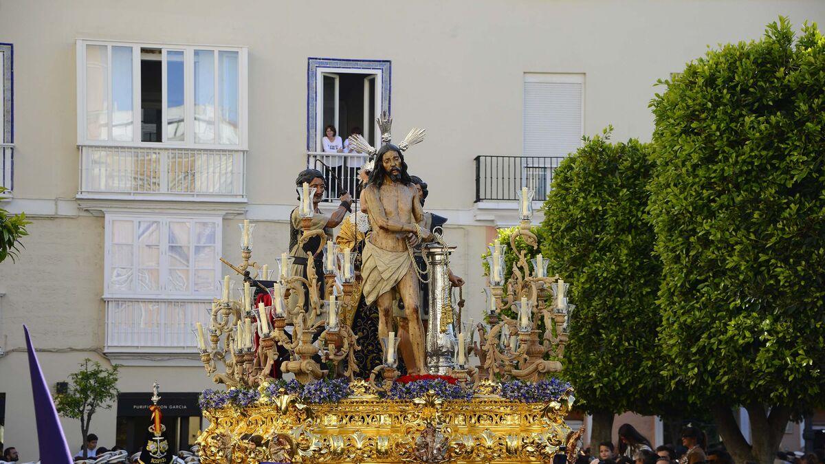 El paso de Jesús Atado a la Columna.