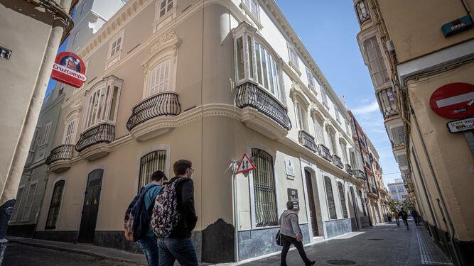 Uno de los últimos negocios de pisos turísticos abiertos en la ciudad, en la histórica Casa de Veedor.