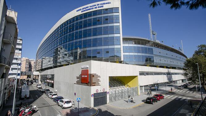 Exterior del ahora denominado Estadio Nuevo Mirandilla.