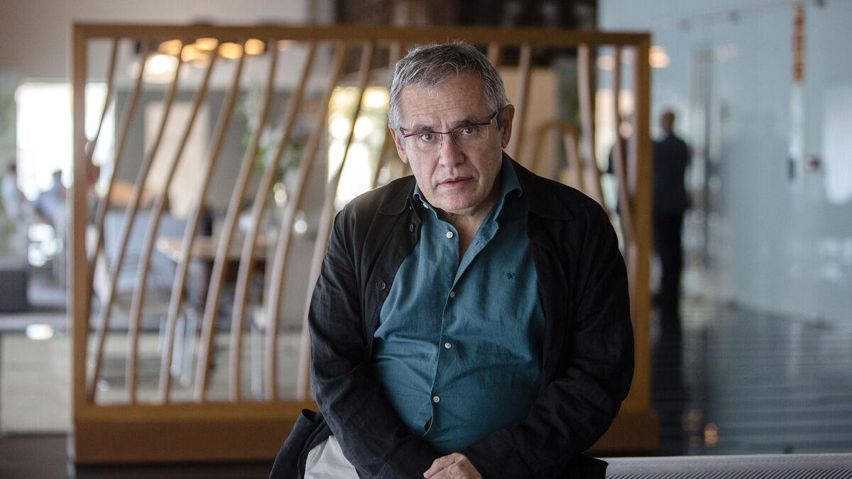 Félix Ovejero, momentos antes de la conferencia que dio esta semana en Cádiz.