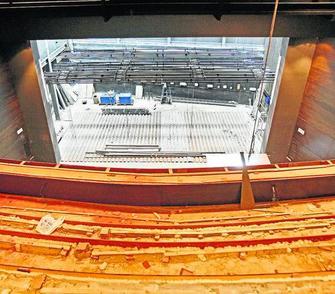 El teatro de la t a norica estar listo en noviembre - Bauen empresa constructora ...