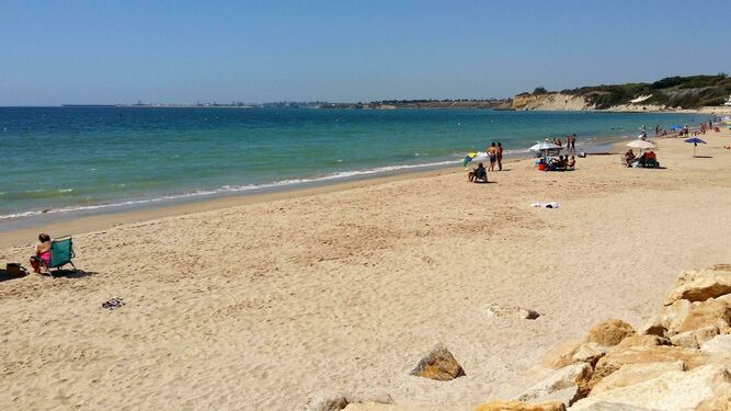 La playa de Fuentebravía