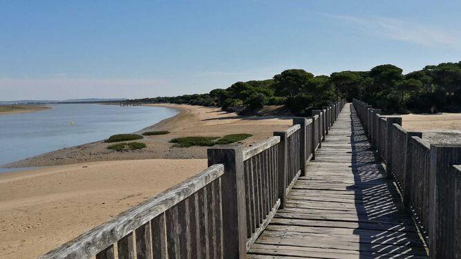 La playa del Río San Pedro